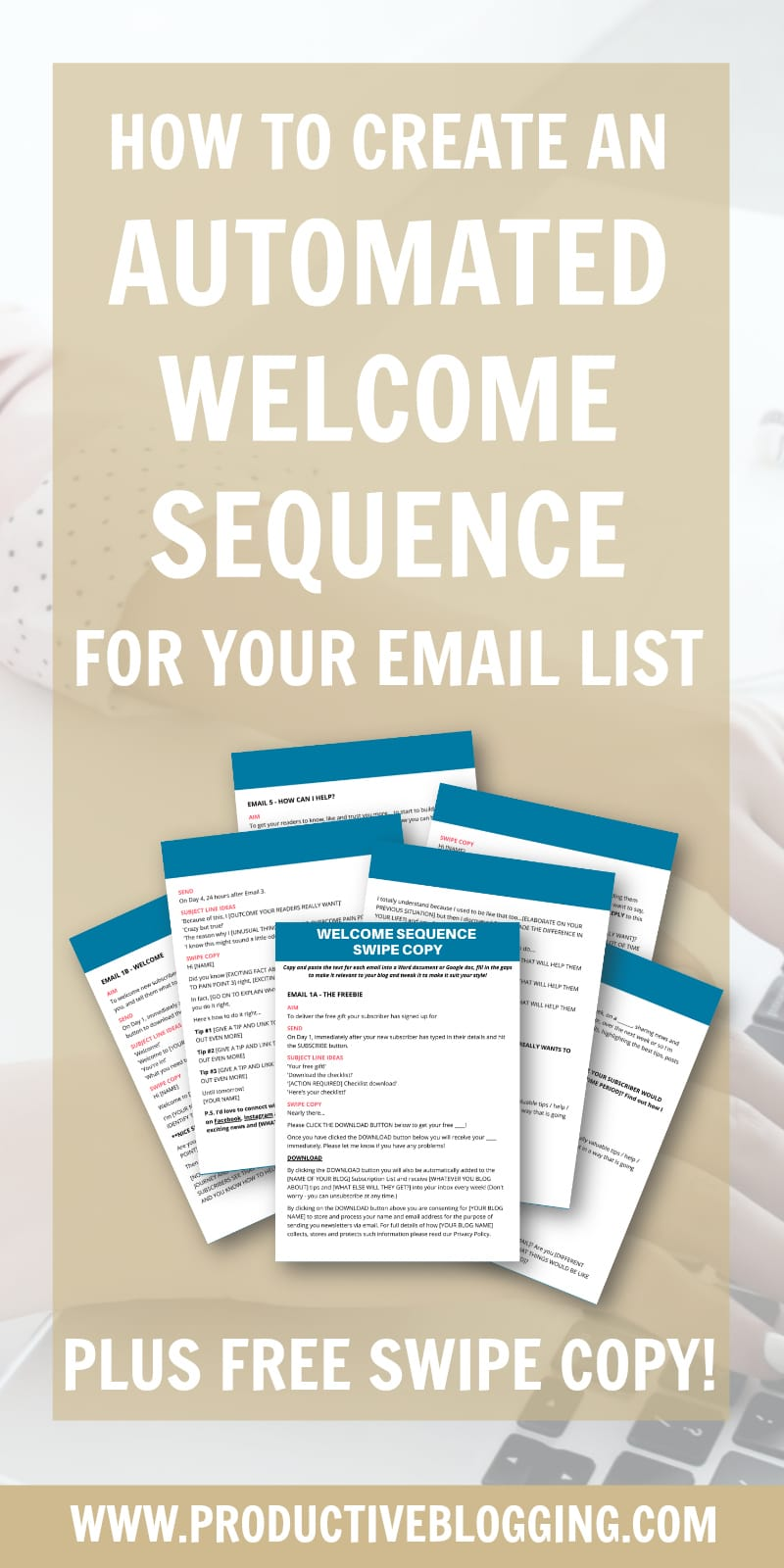When new subscribers join your list, it's good to welcome them properly…before they forget why they signed up for your list and click 'unsubscribe'… Here's how to create an automated welcome sequence for your email list. #welcomesequence #emailwelcomesequence #autoresponser #nurturesequence #emailmarketing #growyouremaillist #emailmarketingtips #emaillist #emaillistgrowth #listbuilding #subscribers #convertkit #growyourblog #bloggrowth #productivitytips #bloggingtips #productiveblogging