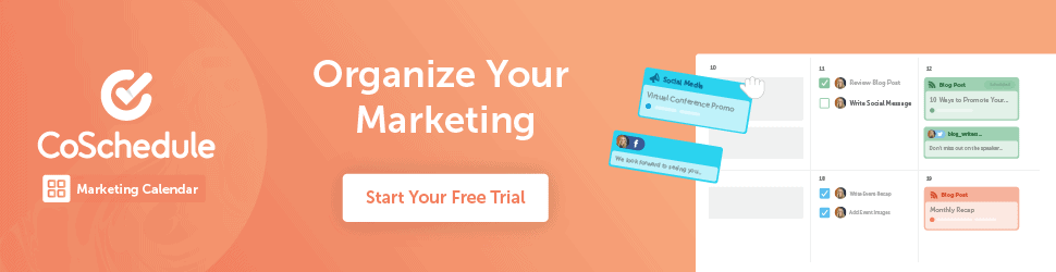 CoSchedule Banner Ad 2021 (Affiliate Link)