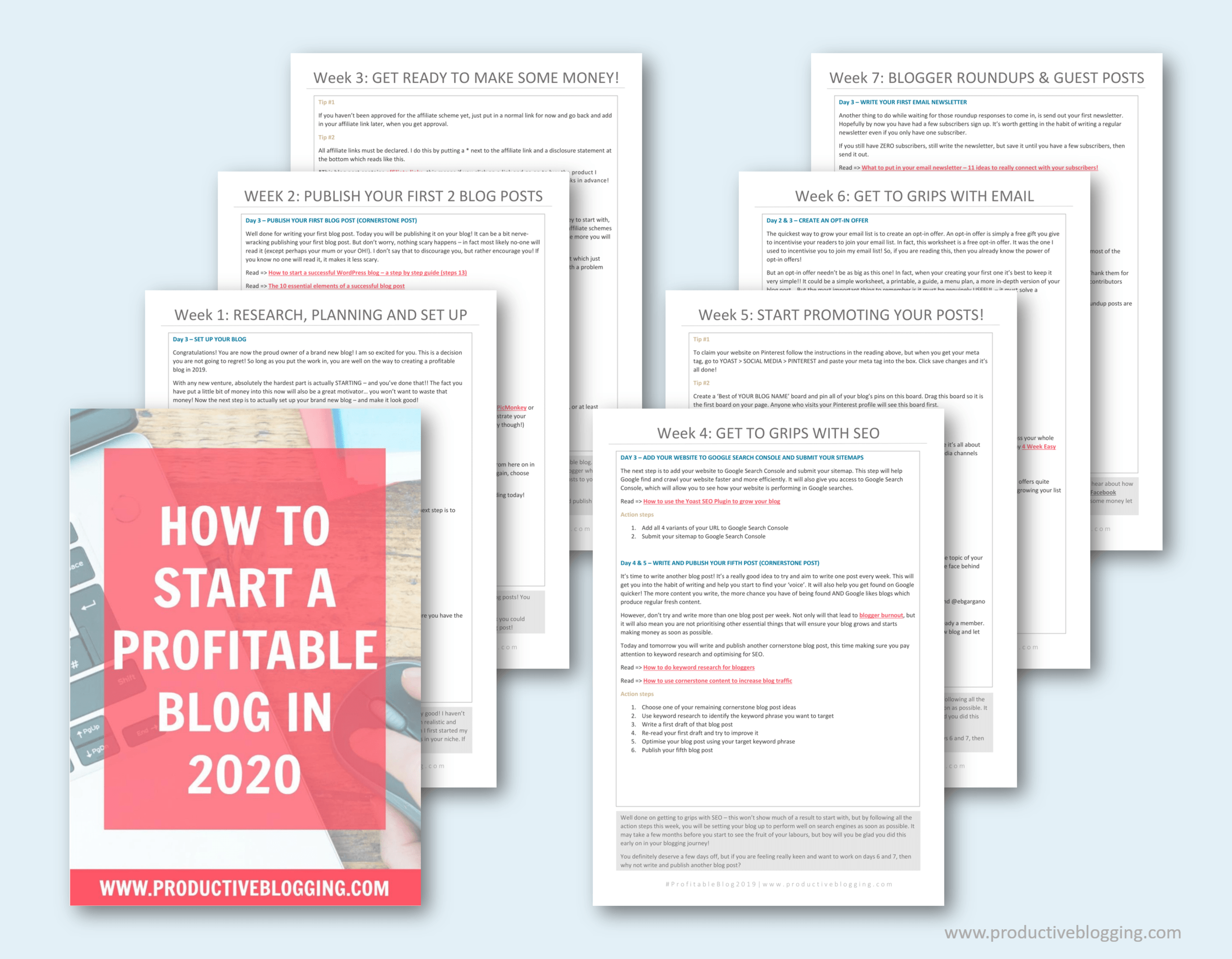 Want to start a profitable blog in 2020 but don't know where to start? Or maybe you already have a blog, but you still haven't made any money yet? In this post I show you the steps you need to take to go from zero to a profitable blog in 2020! #startablog #startablog2020 #profitableblog #makemoneyblogging #newblogger #bloggingnewbie #selfhosted #wordpressblog #siteground #newblog2020 #newyearnewblog #newyearsresolutions #blogplan #blogplanner #bloggingtips #productiveblogging #profitableblog2020