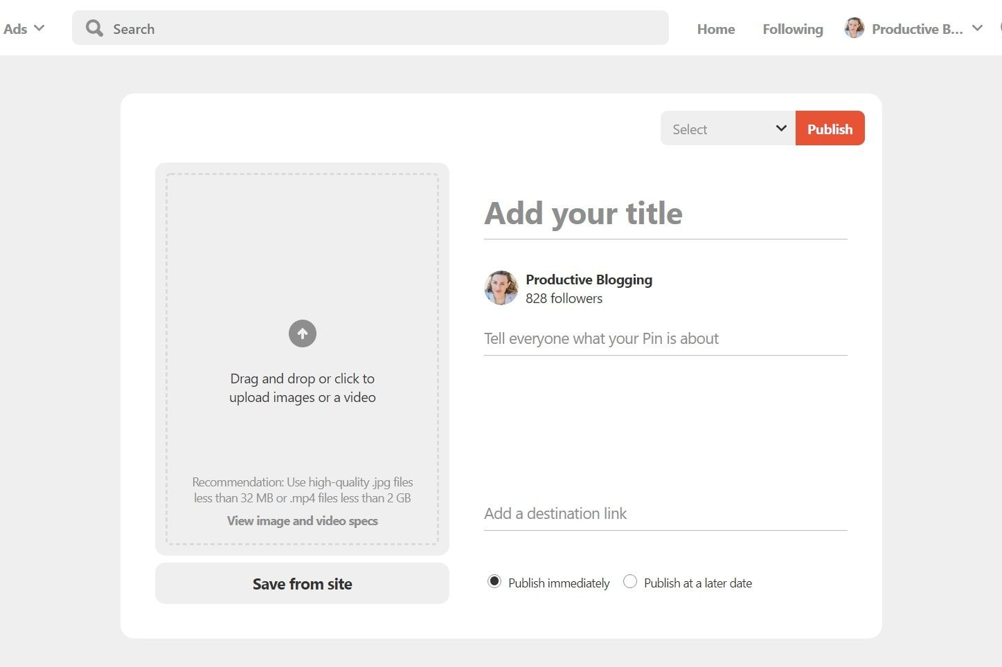 Beginner's guide to Pinterest for Bloggers
