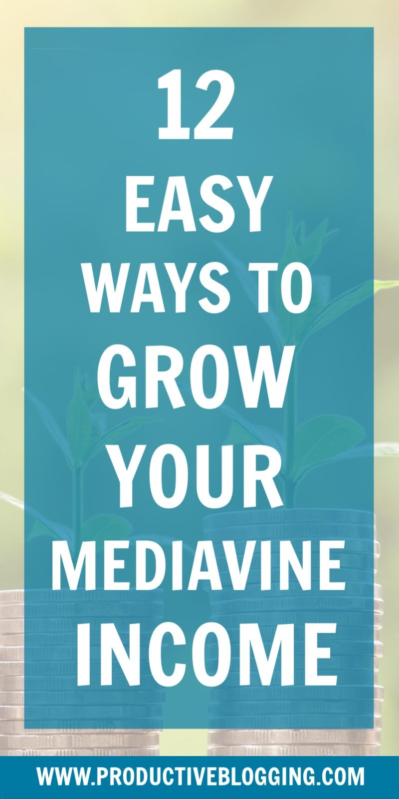 Ads are an easy way to make good money as a blogger. But are you maximising your ad revenue? Here are 12 easy ways to grow your Mediavine income… #ads #adincome adrevenue #mediavine #mediavineads #mediavineincome #makemoneyblogging #monetizeyourblog #passiveincome #blogtraffic #SEO #SEOtips #productiveblogging