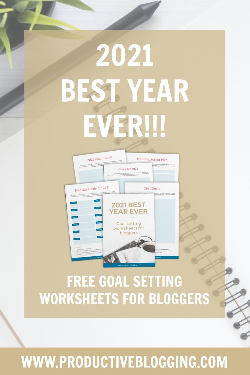 Want to have your best year ever in 2021? Don't leave it to chance. Read my guide to goal setting for bloggers in 2021, dream big and achieve those dreams! #goals #dreams #2021 #2021goals #goalsetting #goalsetting2021 #2021dreams #newyear #newyears2021 #newyearplanning #newyeargoals #2021planning #2021planner #2021plans #blogginggoals #bloggingdreams #blogplanner #blogplanning #blogplanning2021 #blogplanner2021