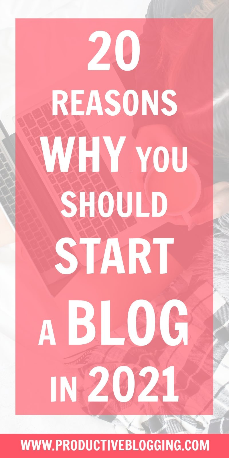 Are you considering starting a blog in 2021? Do you want to earn great money? Be your own boss? Establish your expertise? Open the doors of opportunity? Here are 20 reasons why you should start a blog in 2021… #startablog #startablog2021 #startablogin2021 #reasonstoblog #reasonstostartablog #bloggers #blogger #blogging #blog #newblogger #newbloggers #wannabeblogger #wannabebloggers #benefitsofblogging #bloggingisnotdead #whyblog #whystartablog #whystartablogin2021 #productiveblogging