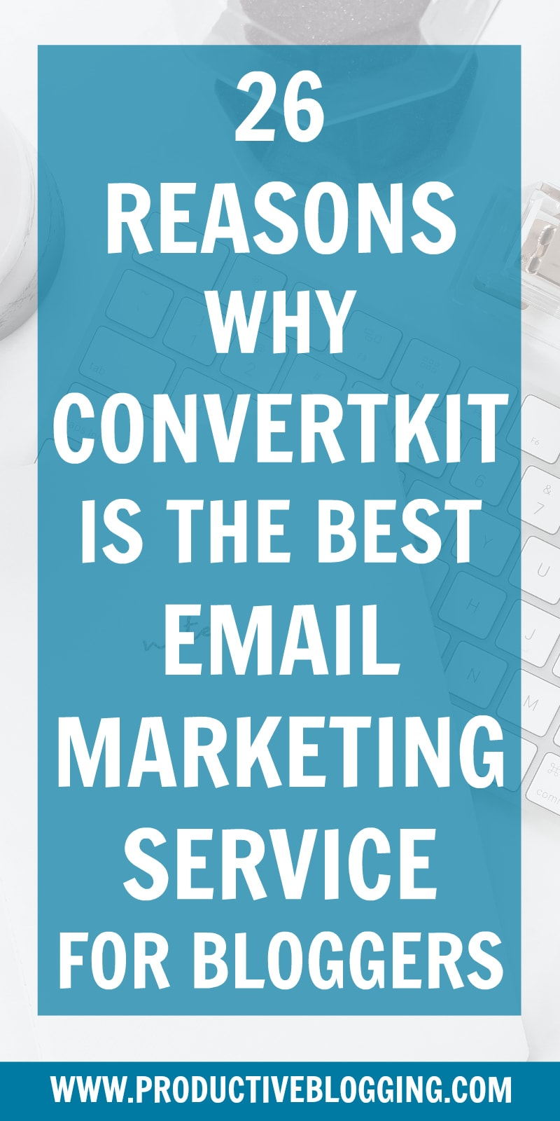 Struggling to decide which email marketing service to choose? Choosing the wrong one can be a HUGE mistake and cost you thousands in lost revenue. Here's 26 reasons why ConvertKit is the best email marketing service for bloggers. #ConvertKit #emailmarketing #emailmarketingforbloggers #emailmarketingtips #email #emaillist #listbuilding #subscribers #convertkit #growyourblog #bloggrowth #bloggrowthhacks #productiveblogging #blogging #bloggers #bloggingtips #blogginghacks #blogsmarternotharder