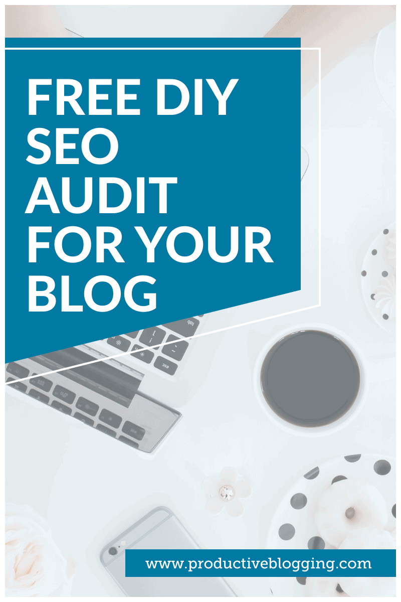 Are you struggling to know how to improve your blog's SEO? Or have you recently experienced a big drop in search engine traffic? Wouldn't it be great if you had a personalised list of all the things you needed to do to improve your blog's SEO? Usually blog SEO audits are VERY VERY expensive. Not so with my FREE DIY SEO Audit! #SEO #SEOaudit #SEOtips #SEOhacks #SEOforbloggers #freeSEOaudit #searchengineoptimization #growyourblog #bloggrowth #bloggingtips #blogginghacks #productiveblogging