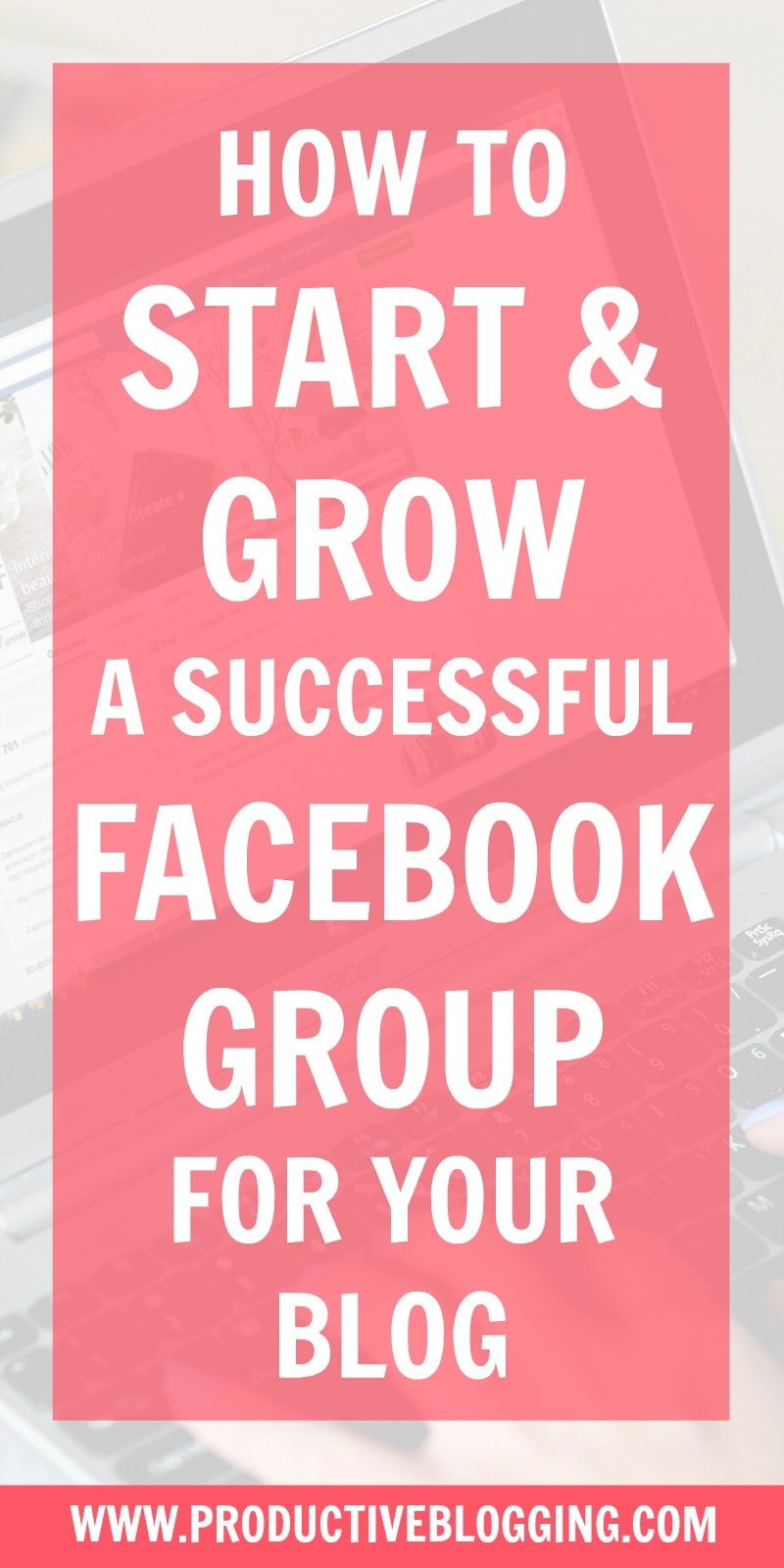 1.4 billion people participate in Facebook Groups every month. Here's how to harness the power of Facebook groups to grow your blog traffic and income. (Spoiler alert, it's not by spamming your group with 'read my blog post' and 'buy my products' messages!) #facebookgroup #facebookgroups #successfulfacebookgroup #facebookgrouptips #facebookcommunity #facebooktribe #growyourtribe #growyourblog #bloggrowth #bloggrowthhacks #bloggingtips #blogginghacks #blogging #bloggers #productiveblogging