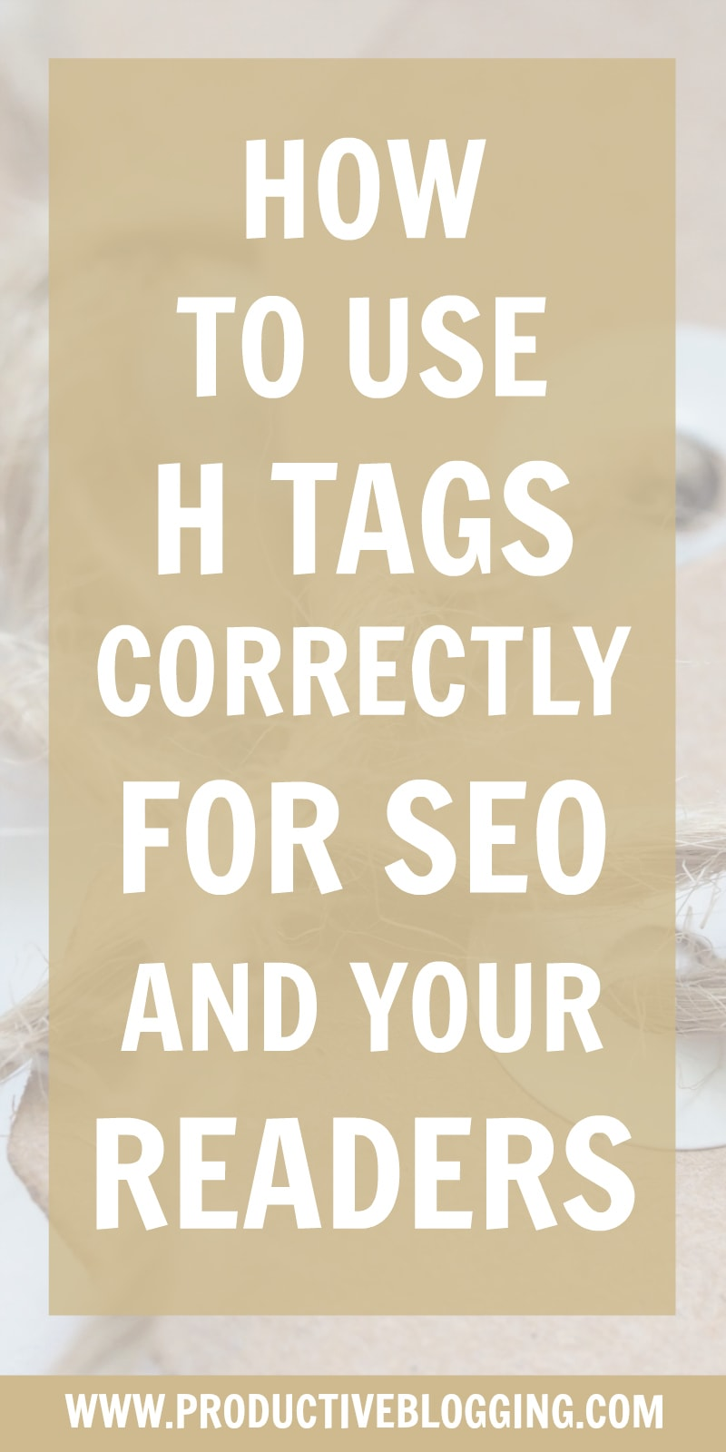 Heading Tags (H1, H2, H3, H4, H5, H6) help both search engines and your readers read and understand your blog posts and pages better. Used correctly they can improve your SEO. Here's how… #htags #headingtags #headings #subheadings #blogheadings #wordpressheadings #SEOforbloggers #SEO #SEOtips #SEOhacks #searchengineoptimisation #searchengineoptimization #keywords #growyourblog #bloggrowth #bloggrowthhacks #bloggingtips #blogginghacks #blogging #bloggers #productiveblogging
