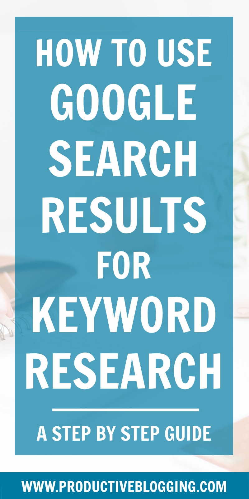 Most bloggers are missing a trick when it comes to keyword research. Google's own search results can provide you with a wealth of high volume, low competition keywords your competitors are missing! Here's how to use Google Search Results for keyword research. #keywordresearch #keywordresearchhacks #keywordresearchtools #SEOforbloggers #SEOforbeginners #beginnersSEO #SEOtips #SEOhacks #growyourblog #bloggrowth #bloggrowthhacks #bloggingtips #blogtips #blogginghacks #bloghacks #productiveblogging
