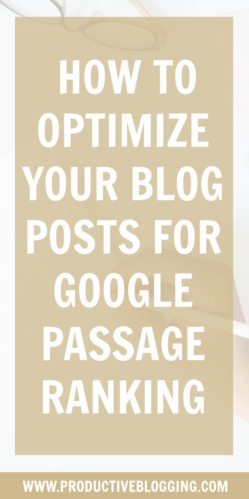 Google recently launched Passage Ranking. But what exactly is Passage Ranking? How does it differ from Passage Indexing? And how can you optimize blog posts for Passage Ranking? #passageranking #passageindexing #googlepassageranking #googleranking #SEOforbloggers #SEOforbeginners #beginnersSEO #SEO #SEOtips #SEOhacks #searchengineoptimization #growyourblog #bloggrowth #bloggrowthhacks #bloggingtips #blogtips #blogginghacks #bloghacks #blogging #bloggers #blogsmarternotharder #productiveblogging