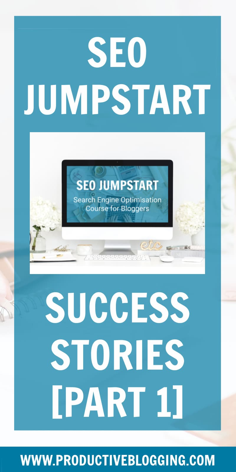 If you are considering buying an SEO course, you want to know if it works, right? Well, who better to tell you than students who've taken the course? I interviewed 5 SEO Jumpstart students about how they got on with the course and what results they achieved… #seojumpstart #seocourse #seocourseforbloggers #SEOforbloggers #SEOforbeginners #beginnersSEO #SEO #SEOtips #SEOhacks #searchengineoptimization #growyourblog #bloggrowth #bloggingtips #blogtips #blogging #bloggers #productiveblogging