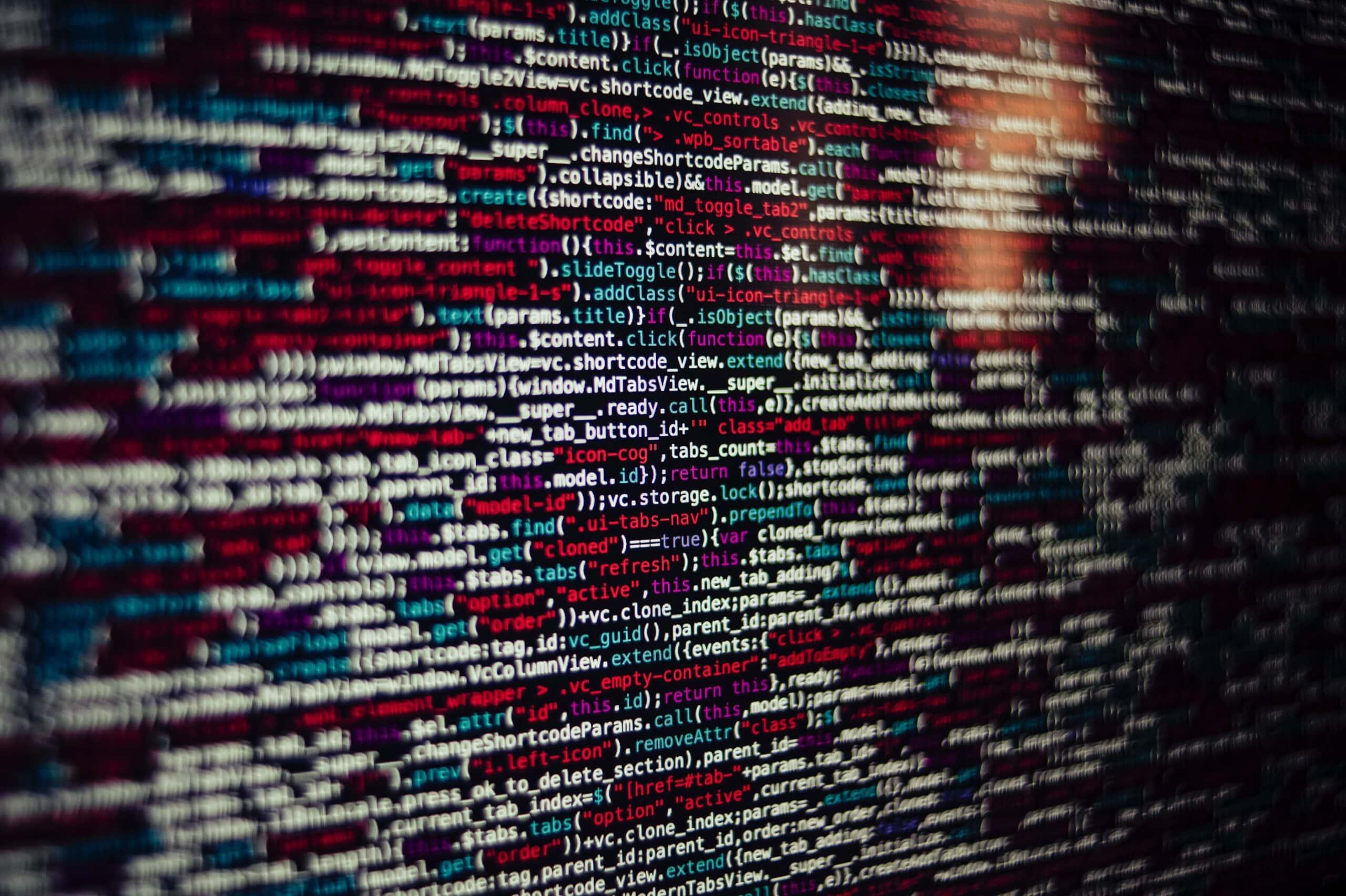 Algorithm on a computer screen