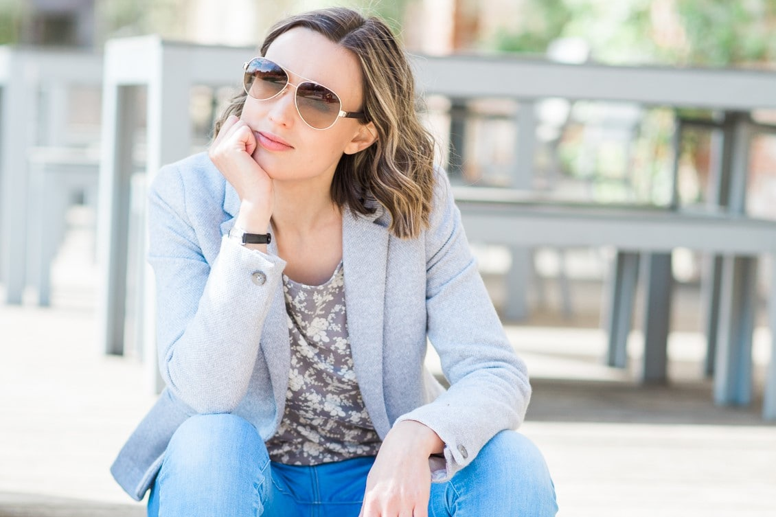 Me (Eb Gargano) wearing sunglasses on a sunny day