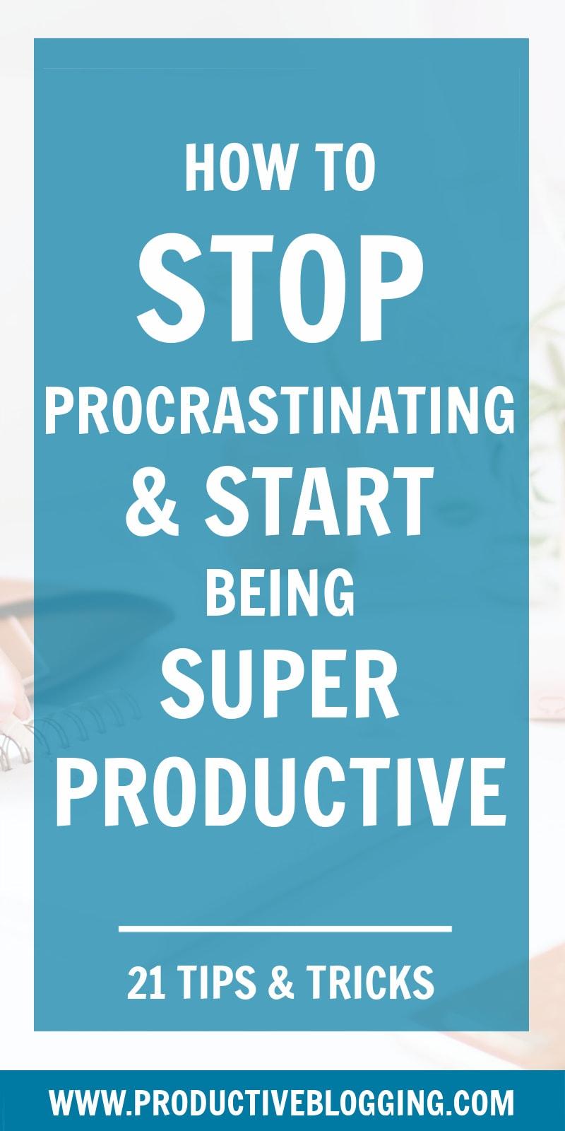 Procrastination is a huge stumbling block to success. Here's how to overcome procrastination and start being super productive… #procrastination #beatprocrastination #productivity #productivitytips #productivityhacks #todolist #goals #planning #timemanagement #organized #organizedblogger #efficiency #goals #blogginggoals #blogger #bloggingtips #blogtips #bloggersofIG #professionalblogger #bloggingismyjob #solopreneur #mompreneur #fempreneur #bloggingbiz #productiveblogging #blogsmarternotharder