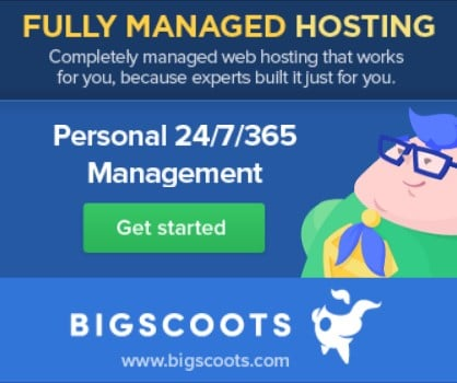 BigScoots Advert and Affiliate Link