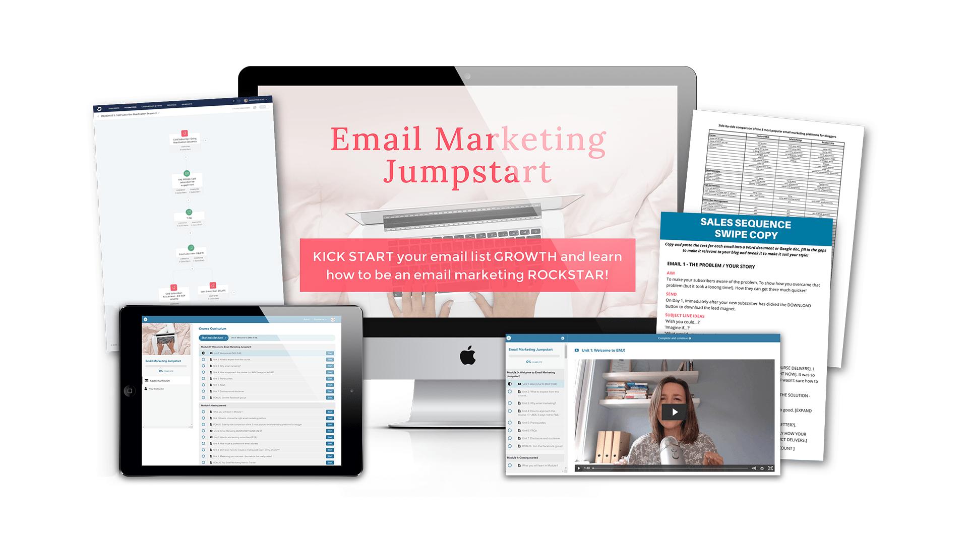 Email Marketing Jumpstart Course