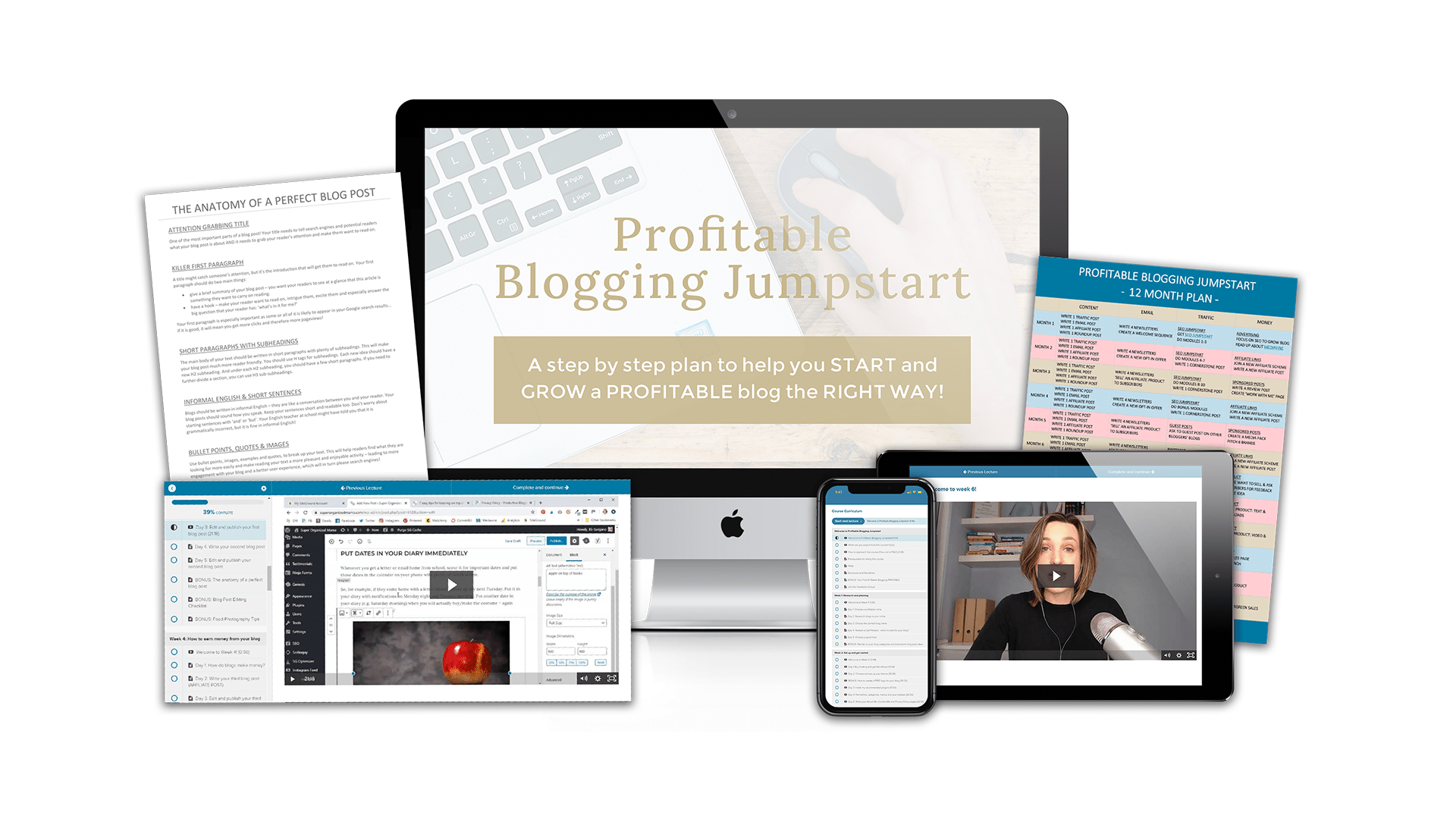 Profitable Blogging Jumpstart Course